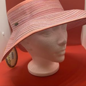 Scala Pink Sunhat. Adjustable and Packable.